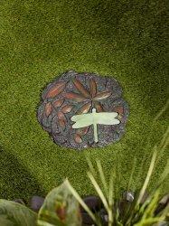 Glow in the Dark Dragonfly Stepping Stone 10 Diameter