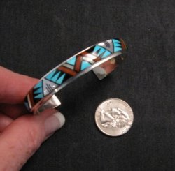 Don & Viola Eriacho, Zuni, Mosaic Inlay Bracelet