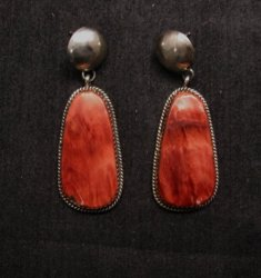 Navajo Spiny Oyster Earrings, Selena Warner