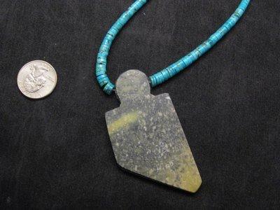 Image 3 of Special Santo Domingo Pueblo Indian Mosaic Inlay Necklace, MARY TAFOYA