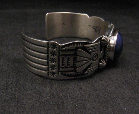 Andy Cadman Navajo Native American Lapis Silver