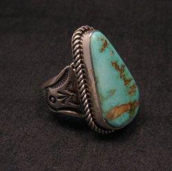 Albert Jake ~ Navajo ~ Native American Royston Turquoise Ring Sz9-1/2