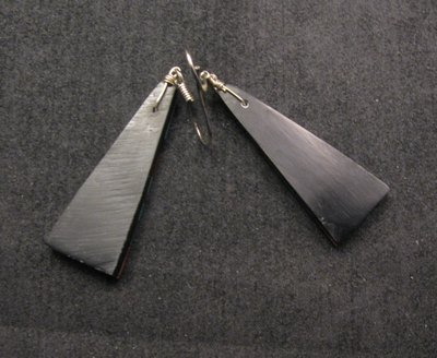 Image 2 of Santo Domingo ~ Kewa ~ Multi-stone Inlay Earrings, James & Doris Coriz