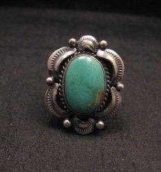Navajo Native American Royston Turquoise Ring sz7, Gilbert Tom