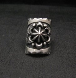Old Pawn Style Navajo Sterling Silver Ring Sz7, Derrick Gordon