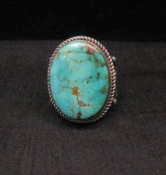 Albert Jake Navajo Native American Royston Turquoise Ring Sz12