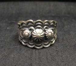 Bennie Ramone ~ Navajo ~ Old Pawn Style Sterling Silver Ring 9-1/4