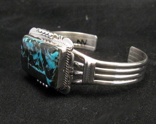 Image 2 of Navajo Native American Sunnyside Turquoise Bracelet, John Nelson