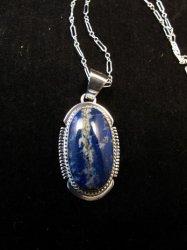 Navajo Native American Lapis Lazuli Ring sz8, Kathy Yazzie