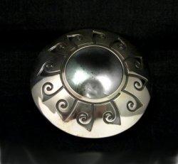 Navajo Native American Sterling Silver Seed Pot, Everett & Mary Teller