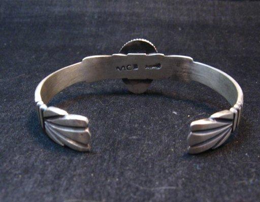 Image 4 of Navajo Martha Cayatine Turquoise Sterling Silver Bracelet