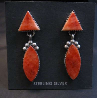 Image 0 of Navajo American 2-Pc Spiny Oyster Earrings, Selena Warner