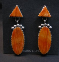 Navajo American Navajo Spiny Oyster Earrings, Selena Warner