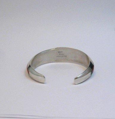 Image 4 of Jim Harrison Navajo Native American Multigem Inlaid Bracelet