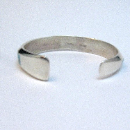 Image 3 of Jim Harrison Navajo Contemporary Multigem Inlaid Bracelet, Small