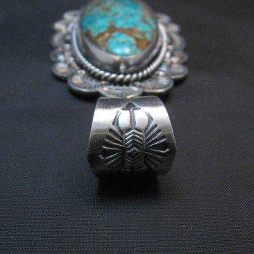 Image 3 of Navajo Sunshine Reeves Royston Turquoise Pendant