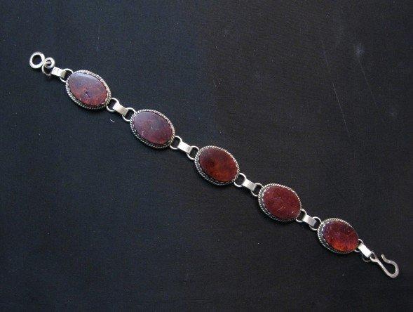 Image 0 of Navajo Purple Spiny Oyster Link Bracelet, Selena Warner