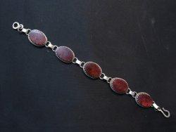 Navajo Purple Spiny Oyster Link Bracelet, Selena Warner