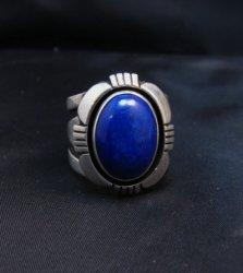 Cooper Willie Navajo Lapis Lazuli Ring Sz7-1/2