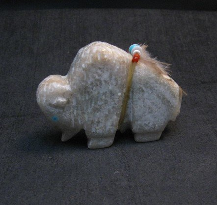 Image 0 of Zuni Fetish - Buffalo - Marble