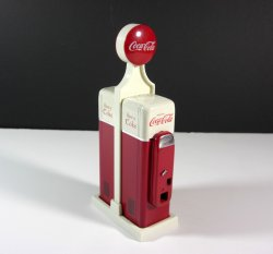 Coca cola vending machine salt and pepper shakers