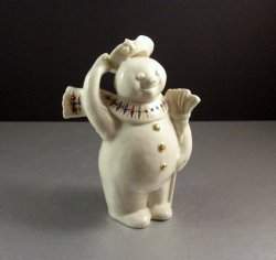 Lenox China Jewels Jolly Snowman Porcelain Figurine as New