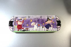 Fitz and Floyd Halloween Snack Cookie Candy Appetizer Tray
