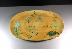 Tracy Porter Laurel Leaf Serving Platter Tray