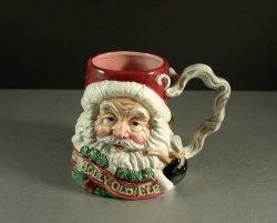 The Night Before Christmas Santa Mug by Fitz and Floyd 1993