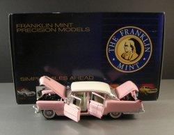 Elvis Presley Pink 1955 Cadillac Fleetwood Model Car / 1:24th Scale Die Cast