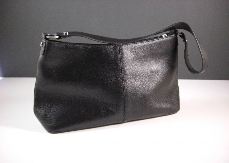 Image 1 of Etienne Aigner Black Leather Handbag Purse