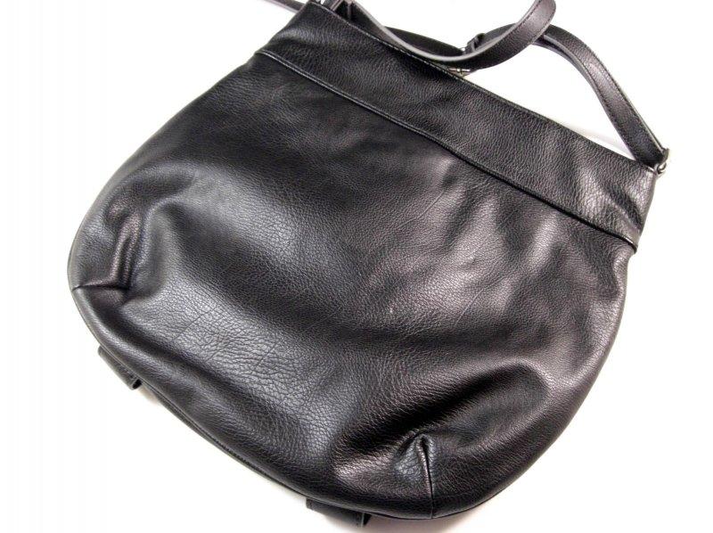 Image 2 of Nine West Black Faux Leather Crossbody Shoulder Bag / Messenger Bag