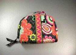 Vera Bradley Travel Jewelry Organizer Case Bag In Ziggy Zinnia NWOT
