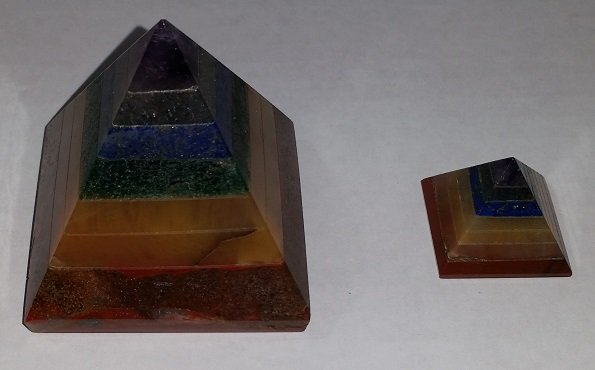 Image 0 of Chakra Pyramids - Large or Small