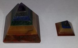 Chakra Pyramids - Large or Small