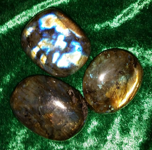 Image 0 of Labradorite Palm Stone