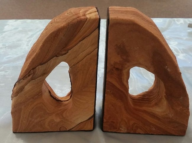 Image 1 of Sandstone Bookends