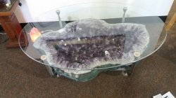 Amethyst Coffee Table - Amazing!