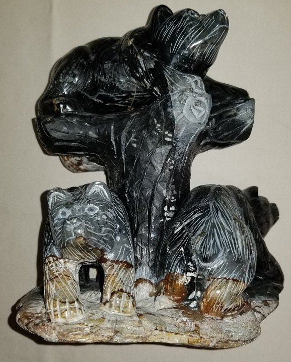 Image 0 of Picasso Stone Marble Bears