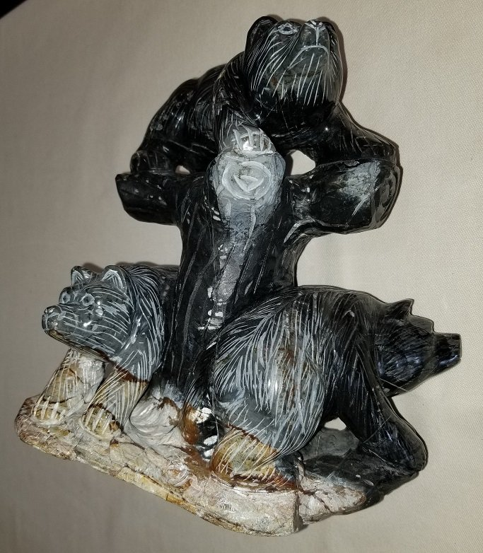 Image 3 of Picasso Stone Marble Bears