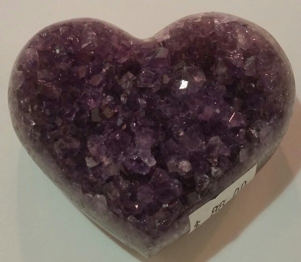 Image 0 of Amethyst Heart Small