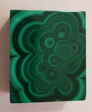 Image 0 of Malachite Rectangular Decorative Box with Lid