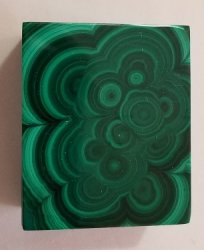 Malachite Rectangular Decorative Box with Lid