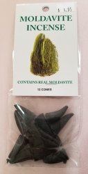 Moldavite Cone Incense