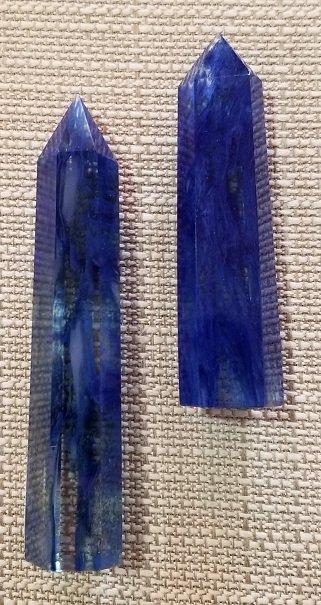 Image 0 of Blueberry Quartz Pillars