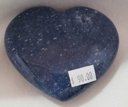 Image 1 of Dumortierite Heart