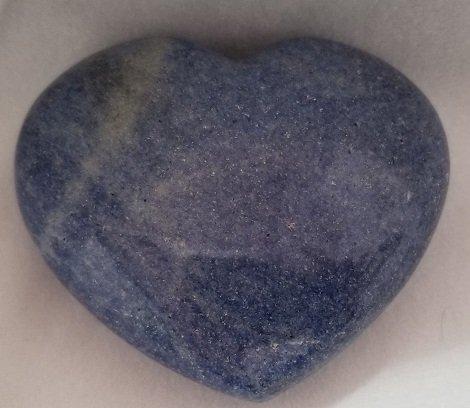 Image 0 of Dumortierite Heart