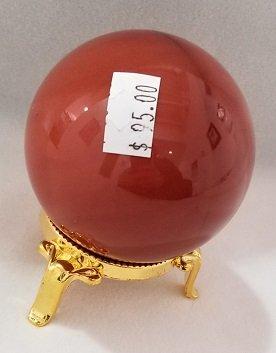 Image 2 of Mookaite Jasper Sphere