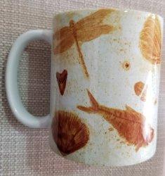 Mug - Ceramic with Fossil Motif