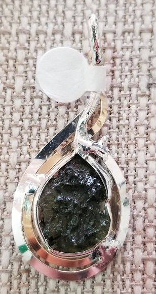 Image 1 of Moldavite Pendent
